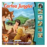 Citeste si Asculta Cartea Junglei - Carte de colorat