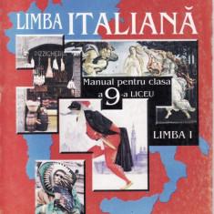 Manual LIMBA ITALIANA CLS a IX  a ED. LOGOS de G. SAUCIUC, Clasa 9, Limbi straine