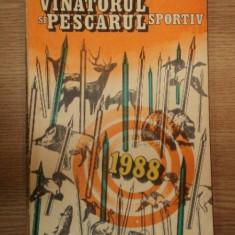 ALMANAHUL VINATORULUI SI PESCARULUI SPORTIV 1988
