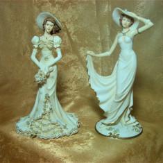 Figurine, statuete Art Nouveau, Leonard Italy - Figurina/statueta