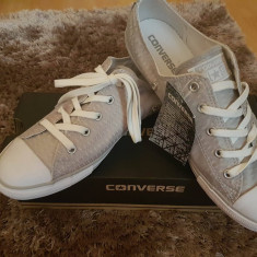 Tenisi Converse All Star - 100% - GREY / WHITE /MOUSE-  Cod 555866C