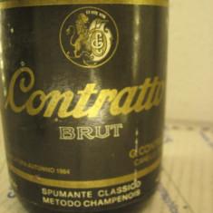 n. 19 -rare sampanie, CONTRATTO BRUT, sboccato 1984, 75 cl 12 vol