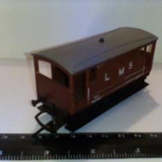 Bnk jc Hornby - vagon LMS - Macheta Feroviara Alta, 1:76, OO, Vagoane