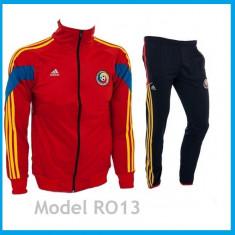 Trening Nationala Romaniei - Romania Bluza si pantaloni conici - Model NOU 1053, S, Din imagine