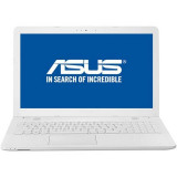 Laptop Asus VivoBook X541UA-GO1256 15.6 inch HD Intel Core i3-7100U 4GB DDR4 500GB HDD Endless OS White, 4 GB, 500 GB