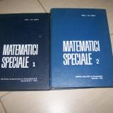 MATEMATICI SPECIALE I.GH.SABAC VOL, 1, 2 - Carte Matematica