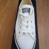 Tenisi Converse All Star albi marimea 40