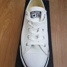 Tenisi Converse All Star albi marimea 40 - Tenisi dama Converse, Textil