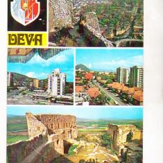 Bnk cp Deva - Vedere - circulata - Carte Postala Transilvania dupa 1918, Printata