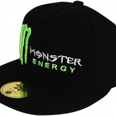 Sapca Monster Energy Hip Hop - Sepci Hip Hop, Sepci Snapback - Sapca Barbati, Marime: Marime universala, Culoare: Negru