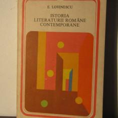ISTORIA LITERATURII ROMANE CONTEMPORANE-EUGEN LOVINESCU - Studiu literar