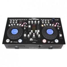 CONSOLA PROFESIONALA CU CD/USB/SD PLAYER DUAL - Console DJ