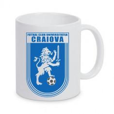 Cana personalizata Universitatea Craiova cana ceai, cana cafea