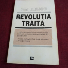 ION ILIESCU - REVOLUTIA TRAITA