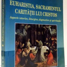 EUHARISTIA, SACRAMENTUL CARITATII LUI CRISTOS de IOSIF ENASOAE, MADALINA-MARIA MARTIN, 2010 - Carti Crestinism
