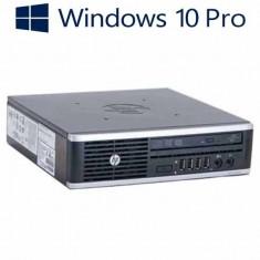 Calculatoare Refurbished HP 8000 Elite Ultra-slim, E8400, Win 10 Pro - Sisteme desktop fara monitor, Windows 10