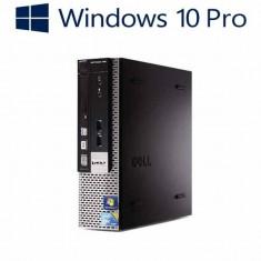 Calculatoare refurbished Dell OptiPlex 790 USFF, i3-2100, Win 10 Pro - Sisteme desktop fara monitor Dell, Windows 10