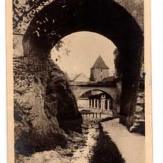 ORASUL STALIN RPR LIBRARIA NOASTRA - Carte Postala Transilvania dupa 1918, Circulata, Fotografie