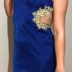Rochie de seara, Marime: 38, Culoare: Albastru