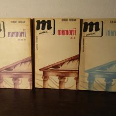 MEMORII -IORGU IORDAN( 3 VOLUME)