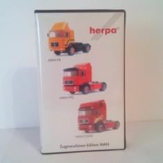 Set Herpa - MAN F8, F90 & F2000 - Macheta auto Herpa, 1:87