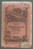 Platon / SYMPOSION (OSPATUL) - editie 1920