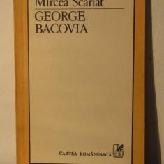 GEORGE BACOVIA -MIRCEA SCARLAT - Biografie