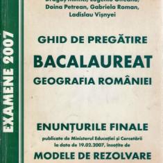 GHID DE PREGATIRE BACALAUREAT. GEOGRAFIA ROMANIEI de M. ARABOAIEI - Manual scolar all, Clasa 10, All, Geografie