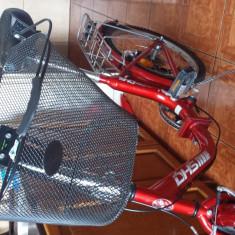 Bicicleta pentru femei brand dhs pliabila - Bicicleta Dama, 20 inch, 18 inch, Numar viteze: 6