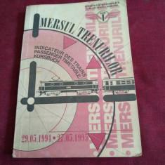 MERSUL TRENURILOR 1994 1995