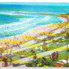 Bnk cp Eforie Sud - Plaja - circulata - Carte Postala Dobrogea dupa 1918, Printata