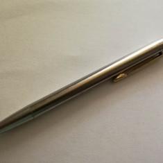 Creion mecanic Montblanc editia Noblesse steluta neagra model rar inox