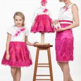 Set de rochii Pink Family (1+2) LA COMANDA