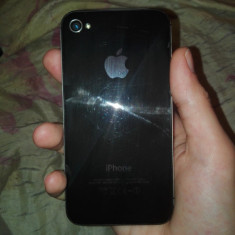 Iphone 4s - Bumper Telefon, Negru