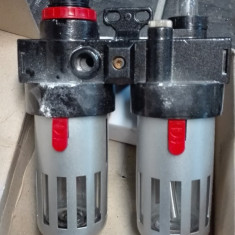 Regulator filtru aer si lubrifiere pentru compresor