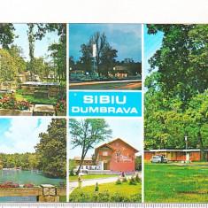 Bnk cp Sibiu - Dumbrava - circulata - Carte Postala Transilvania dupa 1918, Printata