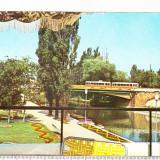 Bnk cp Timisoara - Parcul Alpinet - circulata - marca fixa - Carte Postala Banat dupa 1918, Printata