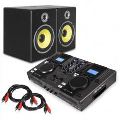 "Electronic Star ""StarterControl"", DJ set, controller + 2 difuzoare - Mixere DJ"