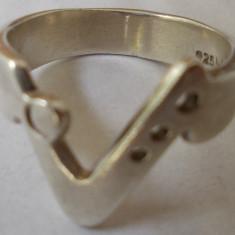 Inel vechi din argint (84) - de colectie