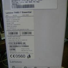 Tableta Lenovo TAB3 7 Essential sigilata, 16GB