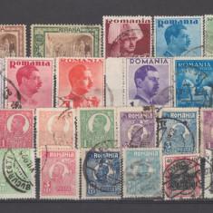 Romania dupa 1906 25 valori stampilate - Timbre Romania, Oameni
