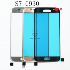 Geam Samsung Galaxy S7 SM-G930  negru alb auriu roz argintiu / sticla ecran
