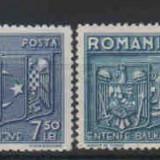 1938 Romania, Lp 123 - Intelegerea Balcanica -MNM - Timbre Romania, Nestampilat