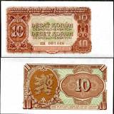 CEHOSLOVACIA- 10 KORUN 1953- UNC!! - bancnota europa