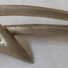 Brosa veche din argint - de colectie (1) - Brosa argint