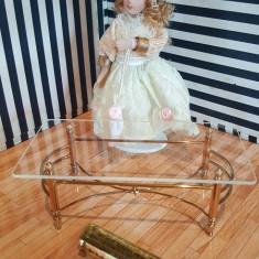 Masuta eleganta de cafea - miniatura papusi/colectionari - Papusa