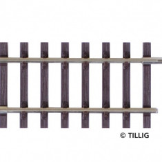 Sina dreapta G4 57 mm, H0 Tillig 82127 - Macheta Feroviara Tillig, H0 - 1:87, Sine