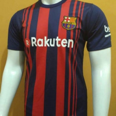Tricou BARCELONA, MODEL NOU 10 MESSI 2017/2018, SUPER MODEL - Tricou echipa fotbal, Marime: L, M, XS, Culoare: Din imagine, De club, Maneca scurta