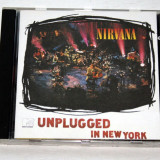 Nirvana - MTV Unplugged in New York (Live Recording, 1994) CD - Muzica Rock Altele
