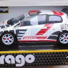Macheta Fiat Abarth Grande Punto Rally S2000, Bburago 1:24